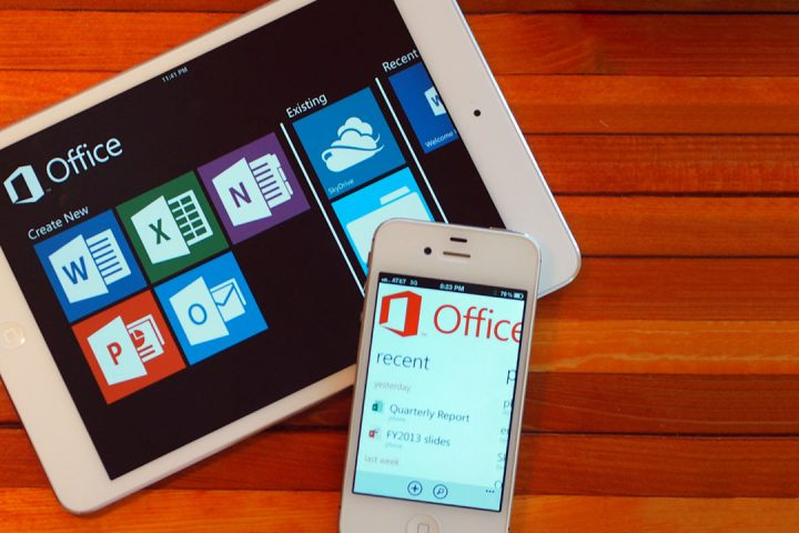 Microsoft Office sur iPad