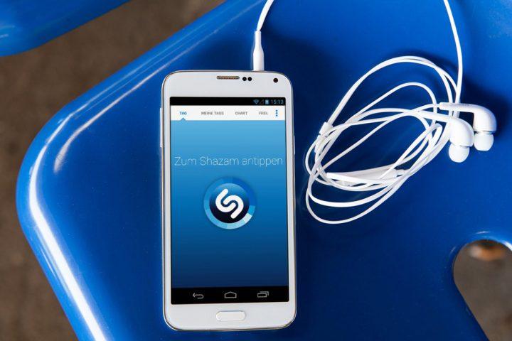 Shazam pour iPhone
